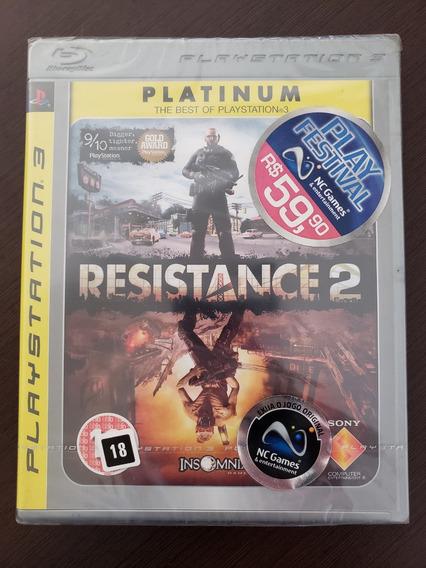 Game Resistance 2 - Ps3 (novo Lacrado)
