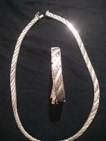 Gargantilha Ou Colar ,de Prata Italiana 925
