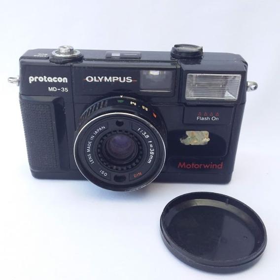Antiga Câmera Fotográfica Olympus Md-35 (cod.4406)