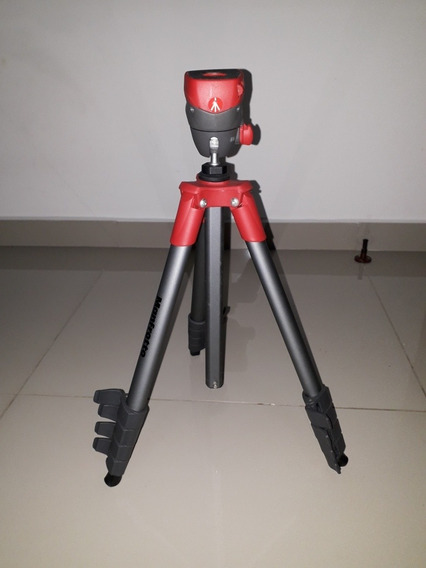 Tripe Universal Manfrotto Compact Action Black Foto Ou Vídeo