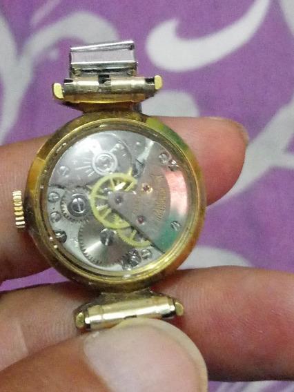 Reloj Borel Automatico Hecho En Suiza Baño De Oro