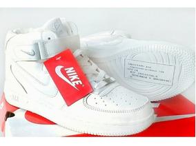 Zapatos Nike Air Force One Corte Alto Blancos Talla 39 (30$)