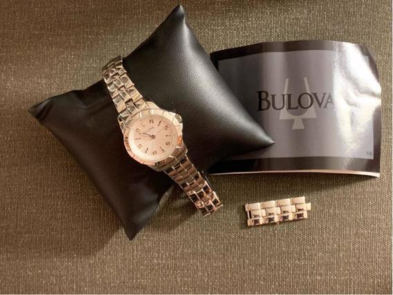 Relógio Bulova Original - Prateado