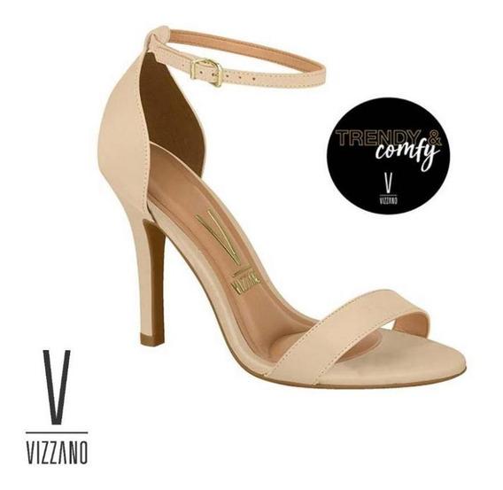 Sandália Vizzano Trend & Comfy Salto Alto