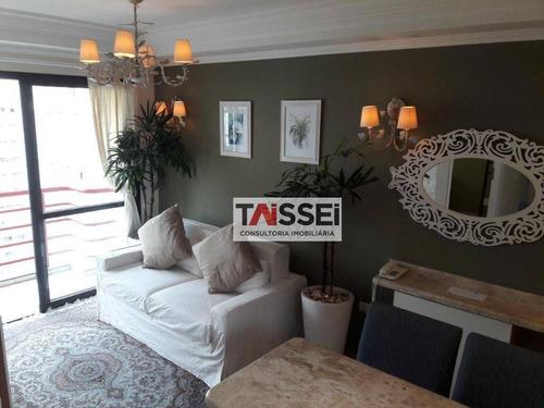 Imagem 1 de 14 de Flat Com 1 Dormitório Para Alugar, 35 M² Por R$ 2.200,00/mês - Moema - São Paulo/sp - Fl0011