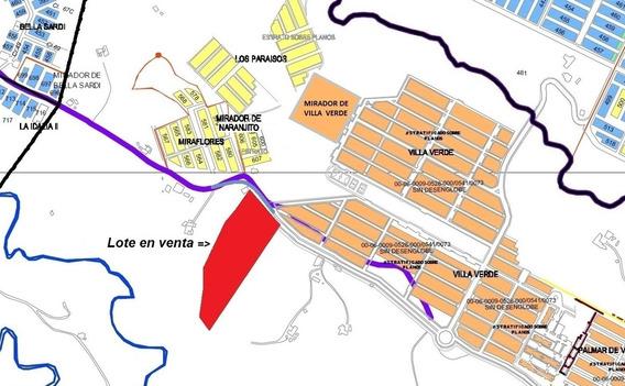 Lote Urbano En Pereira. (villa Verde)