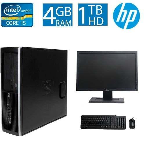 Computador Hp Elite 8100 I5 4gb 1tb Monitor 19 Polegadas