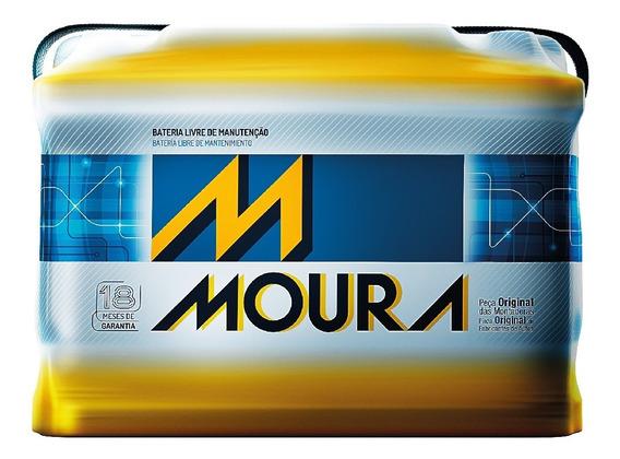 Batería Moura 80 Amp 18 Meses De Garantía