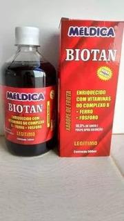 Suplemento Vitamínico Biotan Meldica 12 Unidades 500ml