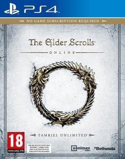 The Elder Scrolls Online Ps4 Juego Original Fisico Sellado