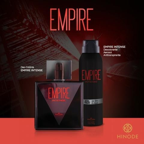 Kit Perfume Empire Intense Hinode + Desodorante Aerosol