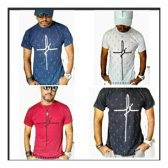 Lote Kit 4 Camiseta Masculino Atacado Revenda
