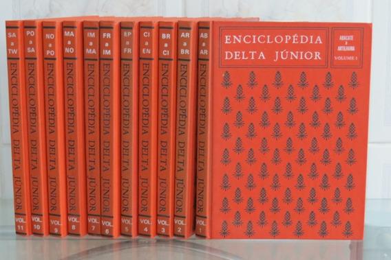 Enciclopédia Delta Júnior 11 Volumes (falta Somente 1)