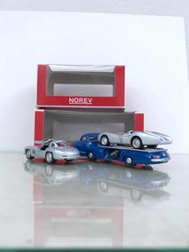 Norev 1/64 Mercedes Benz - Reentransporter / W196 R / 300 Sl