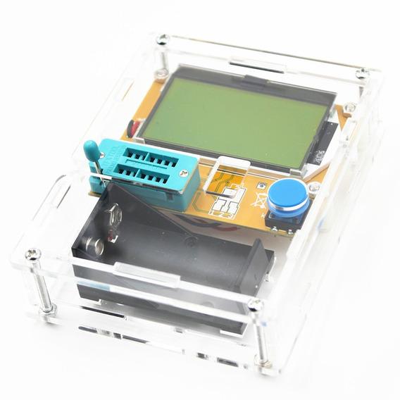 Testador Componente Eletrônico + Caixa Acrílico + 2x Bat 9v