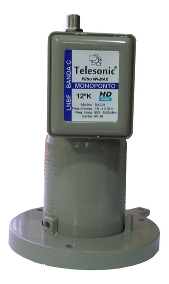 10 Monoponto Telesonic P/ Midiabox -3,6 ~ 4,2