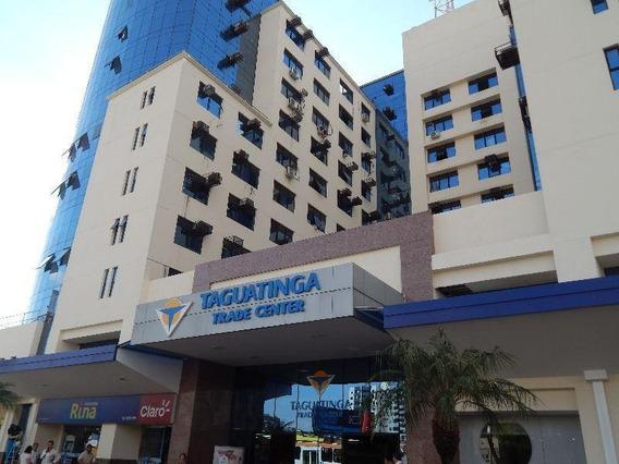 Sala Comercial Para Venda Em Ra Iii Taguatinga, Trade Center, 1 Banheiro - 028