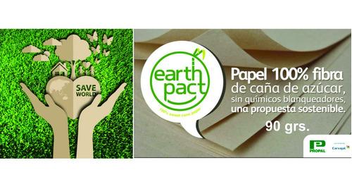 Papel Ecológico Resma Carta 90 Grs. Envío Gratis