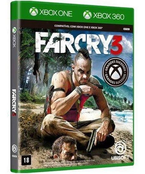 Game Far Cry 3 Xbox One Midia Fisica Original Novo Lacrado