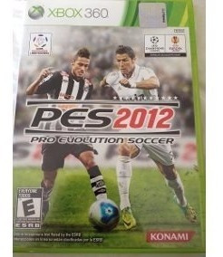 Pes 2012 Pro Evolution Soccer 2012 Xbox 360 Original Dvd