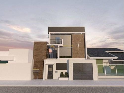 Imagem 1 de 12 de Casa Em Condomínio Assobradada Para Venda No Bairro Jardim Nordeste, 2 Dorm, 2 Suíte, 1 Vagas, 60 M - 4557
