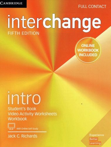 Interchange Intro Full Contact 5th Fifth Edition
