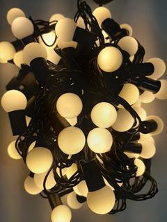 Serie Led Luces 9m 100 Focos Ambar Vintage Decorativas