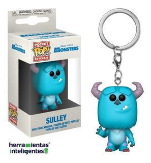 Sulley Llavero Funko Pop Disney Película Monsters Inc