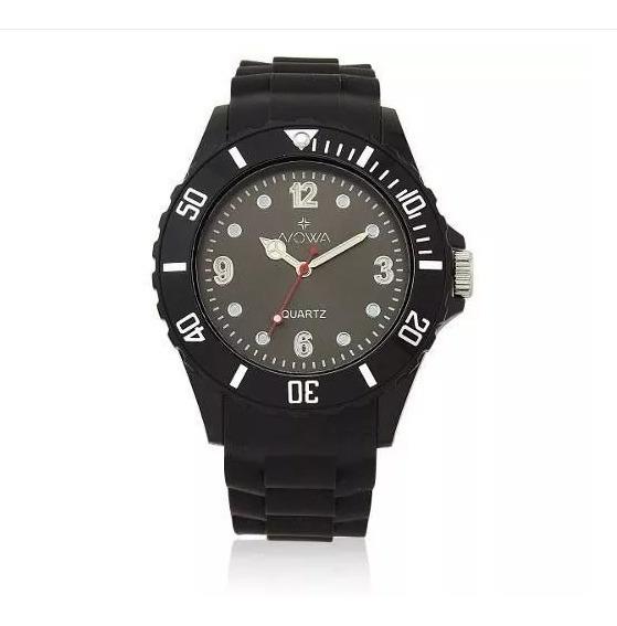 Relógio Masculino De Borracha Nowa Nw0521