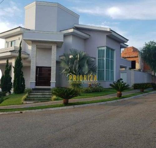 Imagem 1 de 22 de Casa Com 4 Dormitórios À Venda, 352 M² Por R$ 1.250.000,00 - Golden Park Residence I - Sorocaba/sp - Ca0292