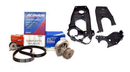 Kit Distribucion + Bomba + Tapas Chevrolet Corsa 1.0 1.4 1.6