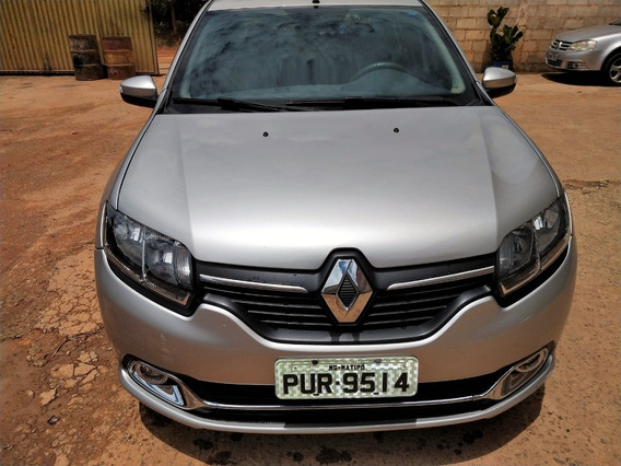 Renault Logan Dynamique 1.6 2014/2015 Prata 5 Portas