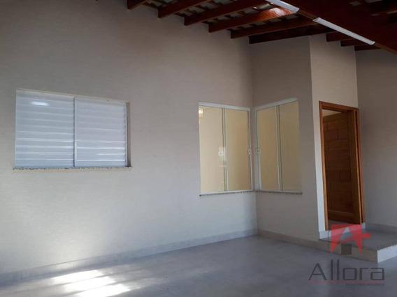 Casa Térrea Nova Com 3 Dormitórios À Venda, 115 M² Por R$ 350.000 - Residencial Quinta Dos Vinhedos - Bragança Paulista/sp - Ca1011