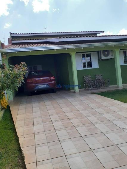Casa Com 4 Dormitórios À Venda, 171 M² Por R$ 360.000 - Centro - Ibiporã/pr - Ca1116