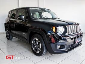 Jeep Renegade 1.8 Sport 4x2 2016 Preta Flex