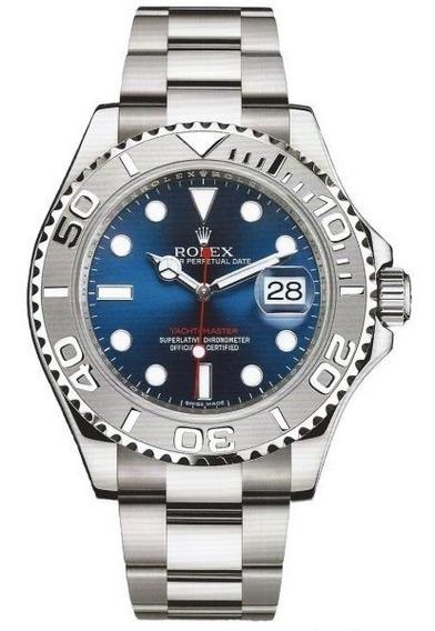 Relógio Eta - Mod. Yacht-master - Base Eta 2840 - Aço 904l