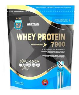 Whey Protein 7900 Gentech X 500 G Suplemento Deportivo