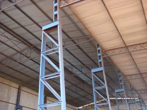 Imagem 1 de 7 de Estrutura Metálica 14 Pes Direito Para  Ponte 15ton  - 1045