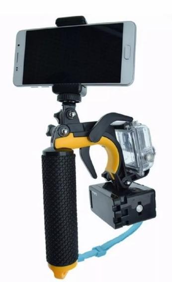 Suporte Mão Estabilizador Gatilho/celular Gopro Hero 5233+4