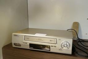 Vídeo Cassete Semp Stéreo X698-usado + Controle- Anúncio 04