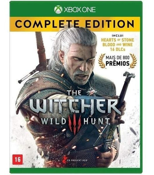 The Witcher Iii - Wild Hunt Edição Completa - Xbox One