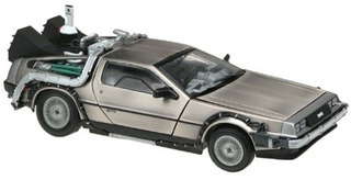 Sun Star 1:18 Diecast Modelo Delorean Time Machine...