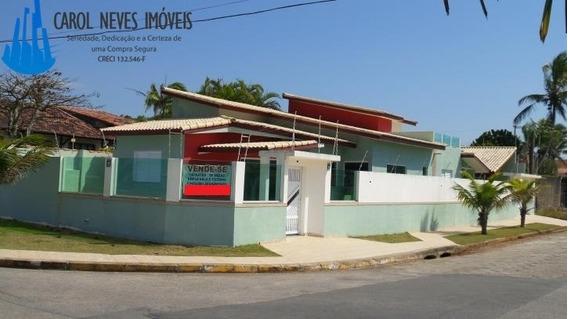 1067-casa Nova Com 4 Suítes Em Itanhaem!!
