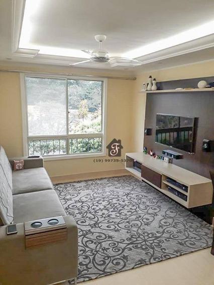 Apartamento À Venda, 83 M² - Parque Villa Flores - Sumaré/sp - Ap1448