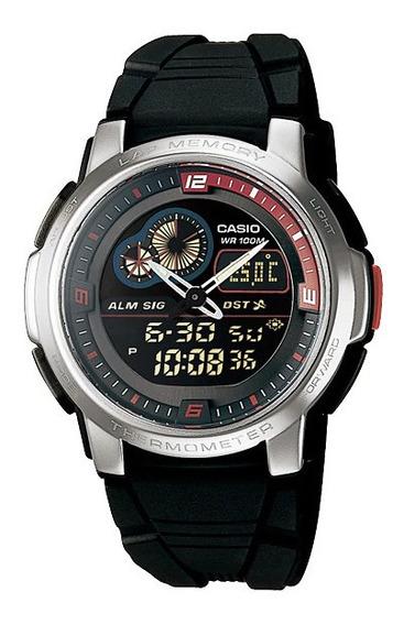 Relógio Casio Termômetro Mod: Aqf-102w-1bvdf De Vltrine