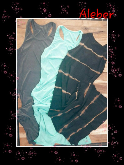 Vestidos De Modal Color Turquesa, Gris, Batik