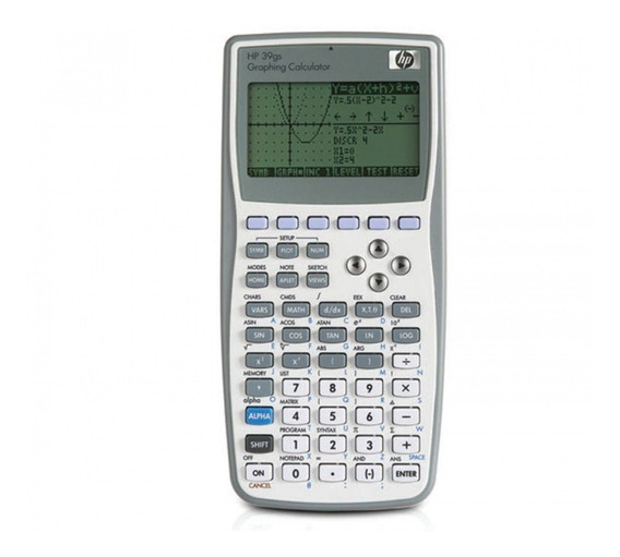 Calculadora Hp 39gs Gráfica Científica Pronta Entrega Nova