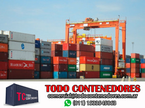 Contenedores Maritimos Containers Deposito 20 Pies Bs. As.