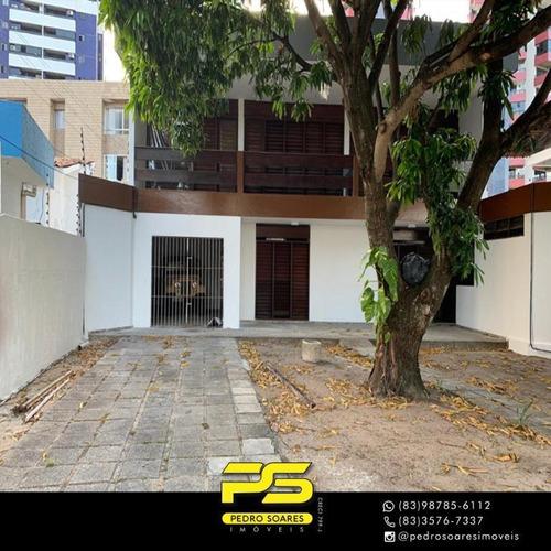 Casa Com 4 Dormitórios À Venda Por R$ 800.000,00 - Aeroclube - João Pessoa/pb - Ca0790