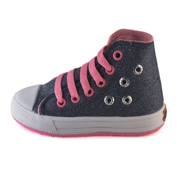 Bota Glitter Tachas Small Shoes